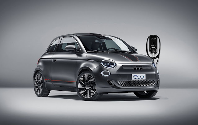 Fiat 500 electric by Mopar