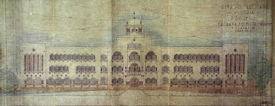 Projeto do Colégio Salesiano de Vitória, 1945.