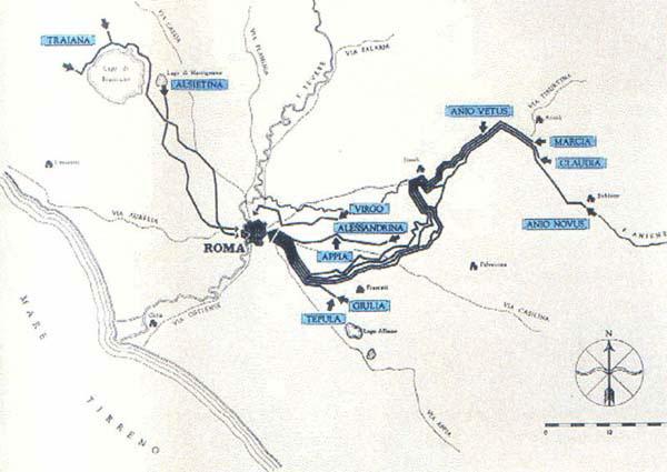 Acquedotto Acqua Marcia.Roma L Acquedotto Felice Studio Del Passato Di Roma E