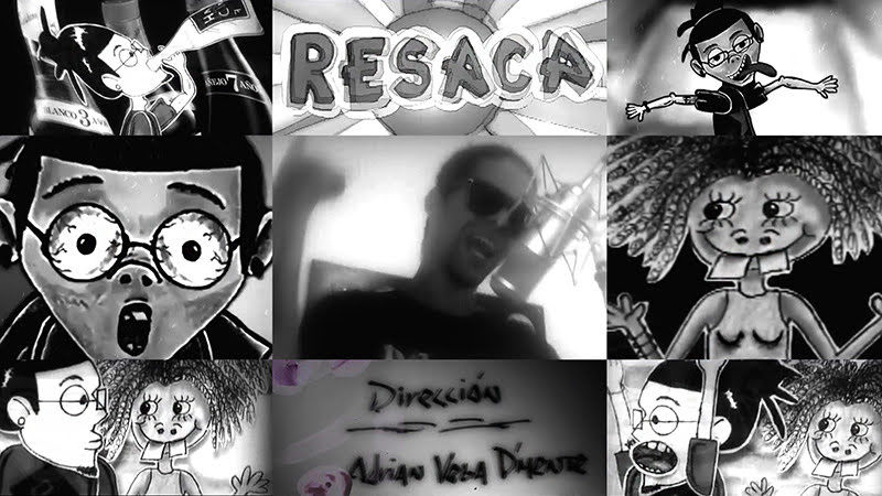 D'Mente - ¨Resaca Remix¨ - Dibujo Animado - Videoclip - Dirección: Adrián Vega. Portal del Vídeo Clip Cubano