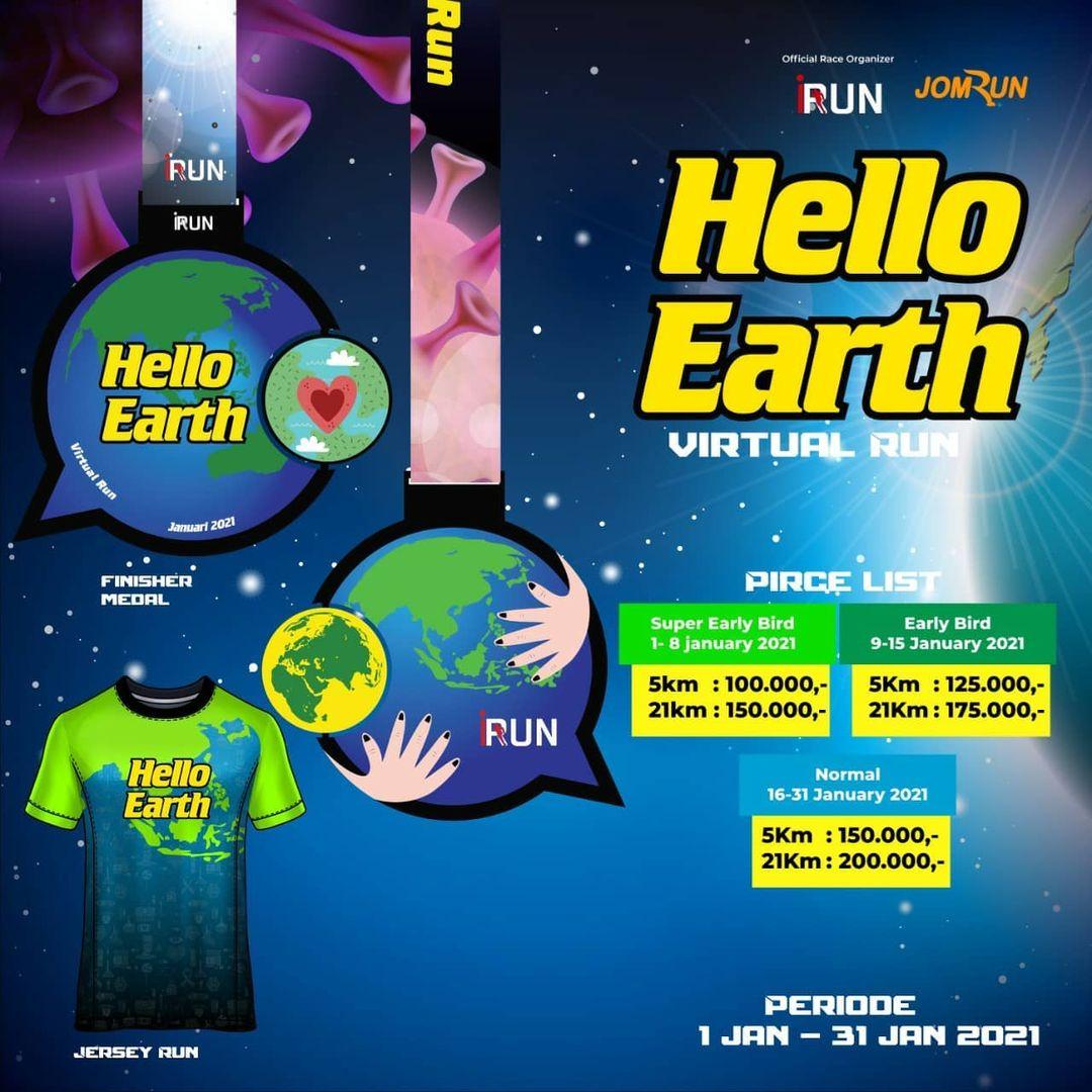 Hello Earth Virtual Run • 2021