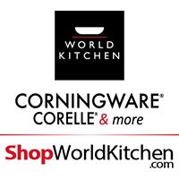 our corningware corelle more outlet stores offer our own well known and trusted brands as well as a wide selection of accessories flatware glassware and - Shop World Kitchen