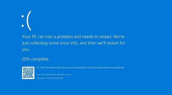 "Cara Mengatasi Error Windows 10 ""Stop Code: Critical Process Died"""