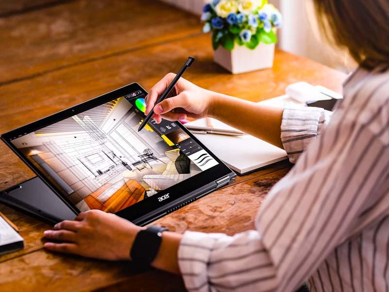 Acer apresenta novos modelos de linha premium de notebooks leves e ultrafinos