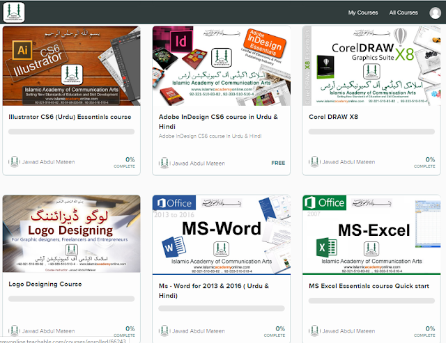 Free computer courses list in pakistan