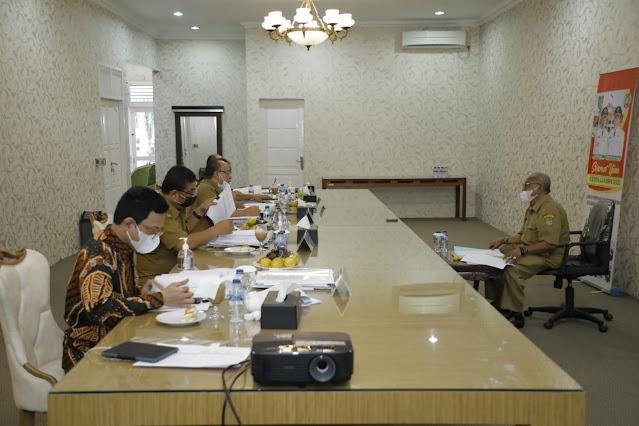 BKD Gelar Uji Kompetensi Diikuti 14 Eselon II di Lingkungan Pemkab Asahan