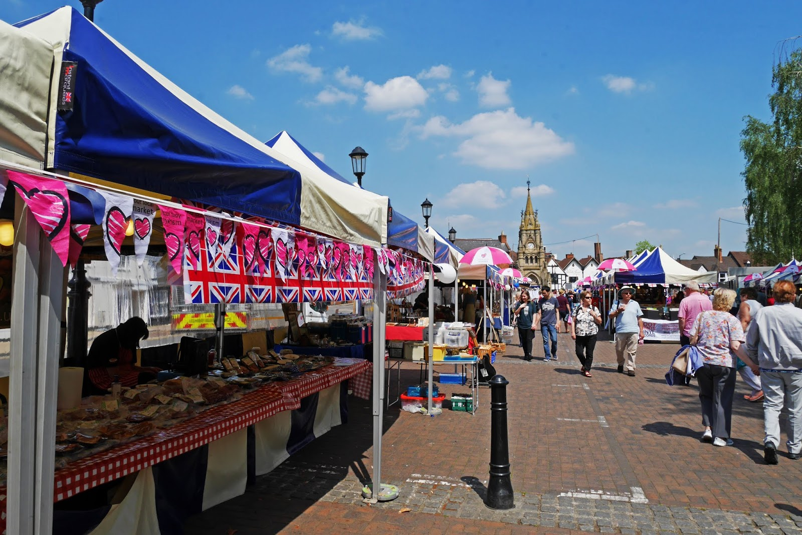 Stratford-upon-Avon Saturday market