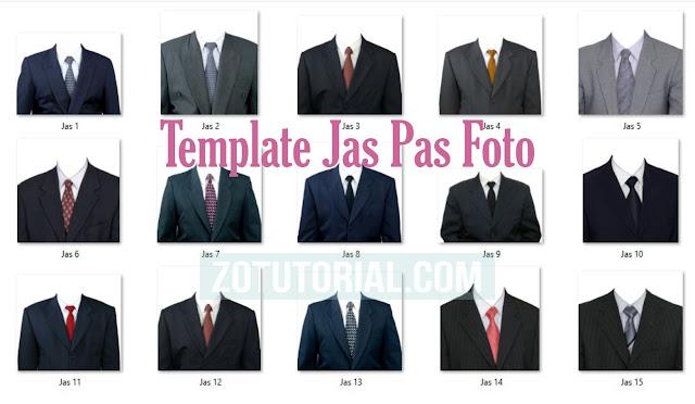 Download Template Jas Pria Untuk Pas Foto Photoshop dan CorelDraw | zotutorial.com
