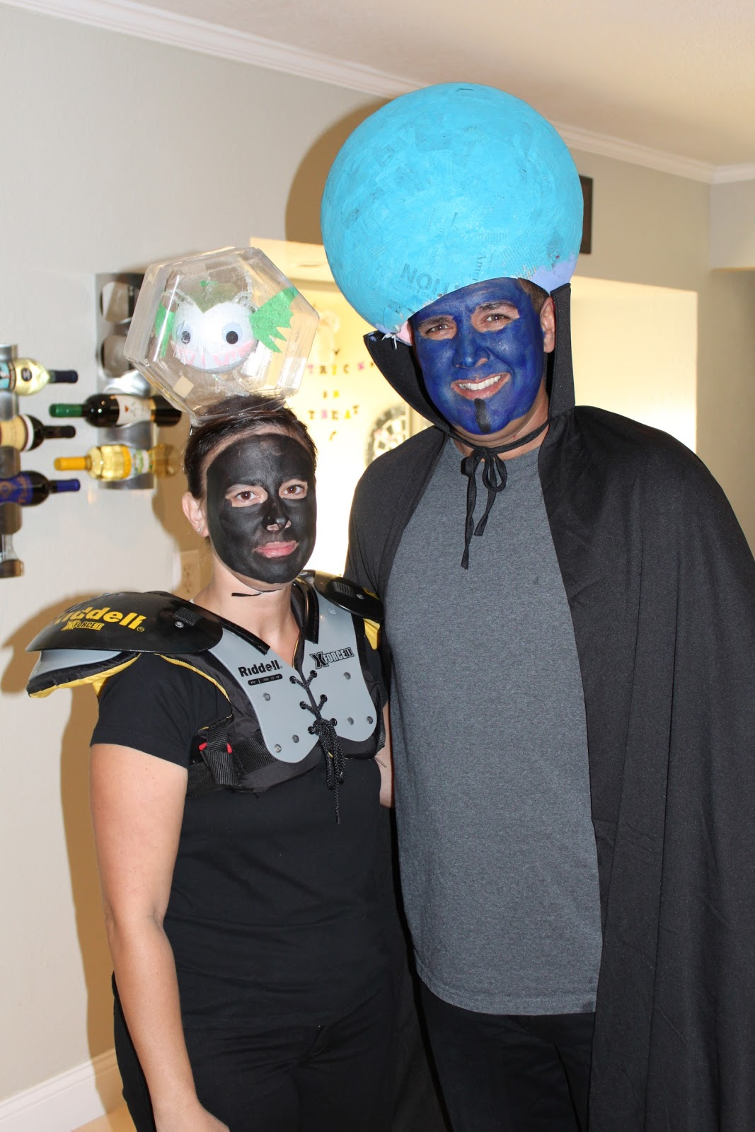 MegaMind u0026 Minion  & The Exhausted Mom: Couples Halloween Costume Ideas