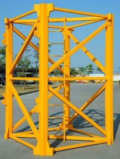 Tiang/standard section crane