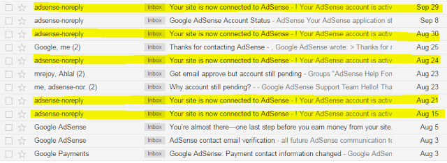 fully approved adsense