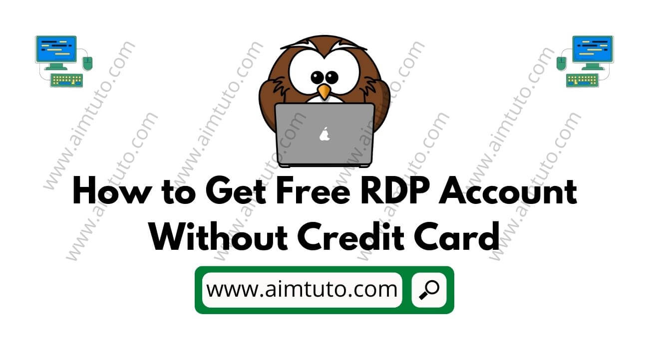 How to Get Free RDP Admin Access Without Credit Card