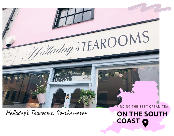 Finding The Best Cream Tea On The South Coast: Halladay's Tearooms, Southampton