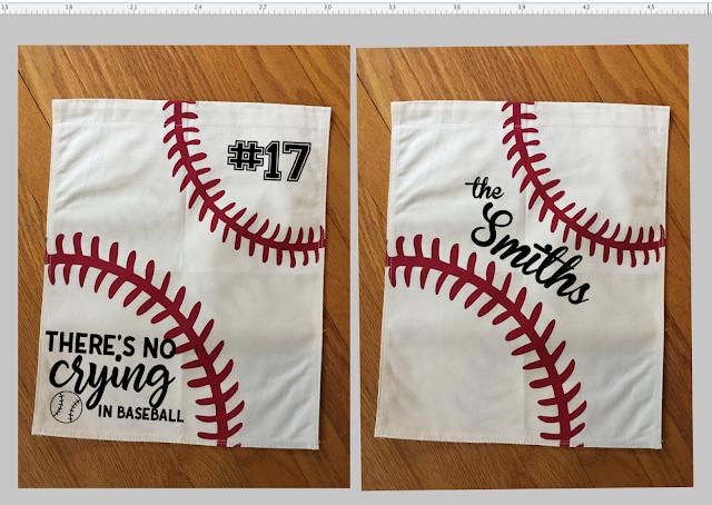 baseball blanks, baseball vinyl blanks, baseball htv blanks, garden flags