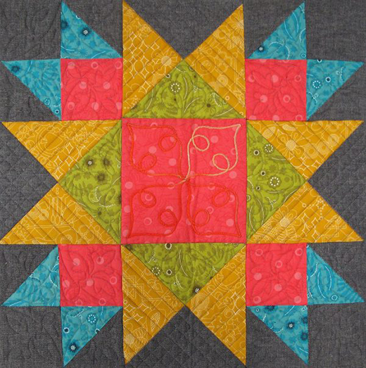 Union Square Block designed by Nina McVeigh from We All Sew