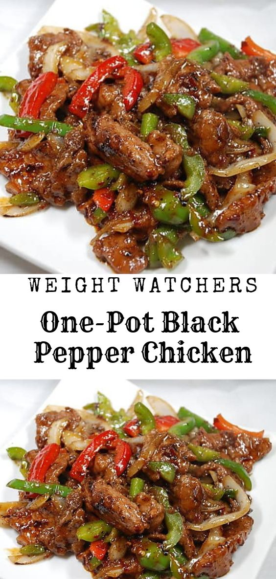 One-Pot Black Pepper Chicken