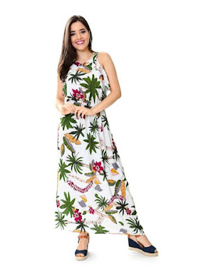 Vestidos Estampas florais com as cores do verão