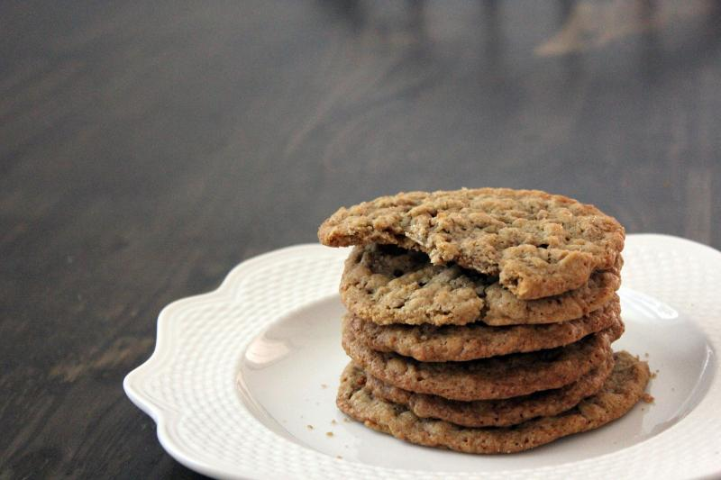 Soft Oatmeal Cookies by freshfromthe.com