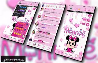 Minnie Cute Theme For YOWhatsApp & Fouad WhatsApp By Nanda