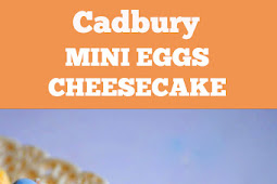 Delicious Cadbury Mini Eggs Cheesecake