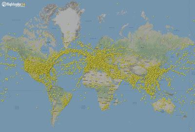 230.000 vôos registados em um único dia em todo o planeta: um novo recorde batido duas vezes numa semana