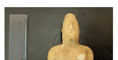 Ειδώλιο γυναικείας μορφής εντοπίστηκε στην Κρήτη
