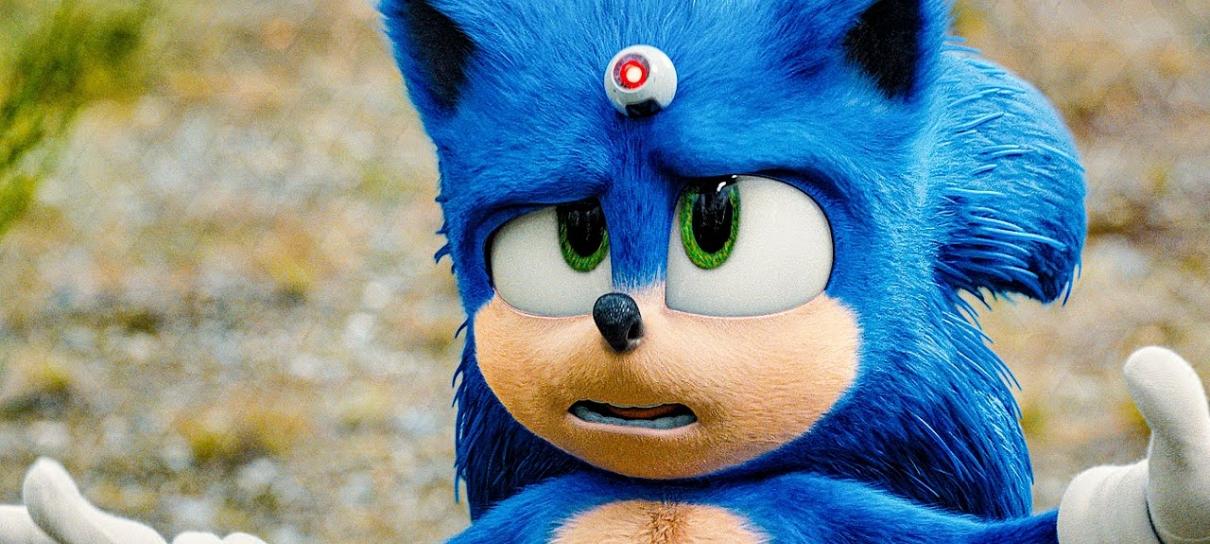 Sonic lidera nas bilheterias