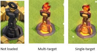 inferno tower , coc , clash of clans