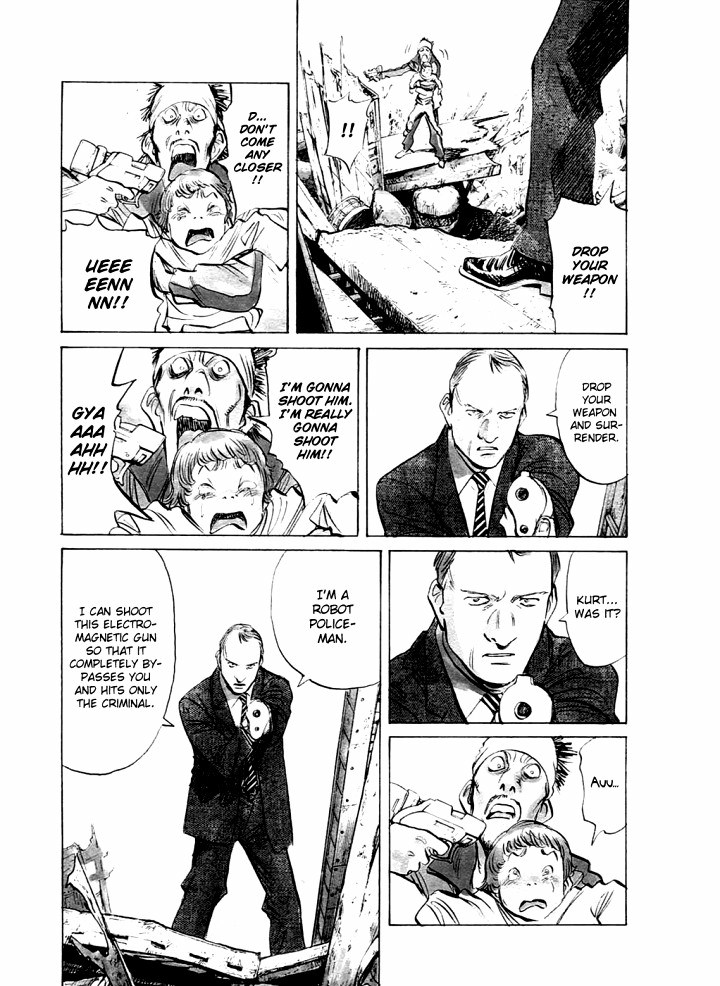 Page 7, Act 63: A Wish to the Stars from Naoki Urasawa's Pluto Volume 8