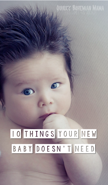 How to save money on your new baby. 10 things your new baby doesn't need. 10 things you don't need to buy for your new baby.  Baby items you can live without. baby registry items to skip.