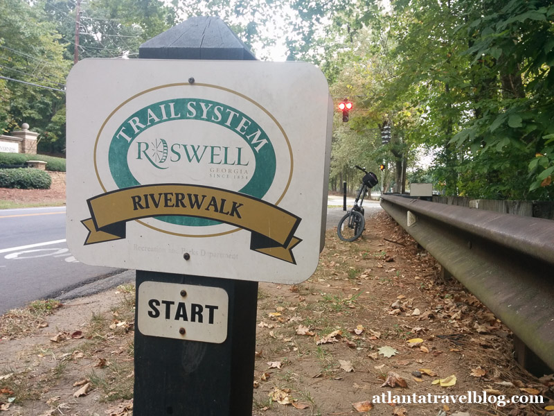 Roswell Riverwalk Trail
