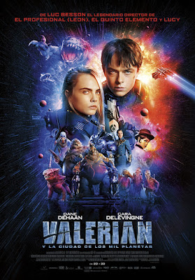 Valerian And The City Of A Thousand Planets 2017 DVD Custom HD Latino
