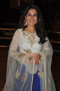 Actress Isha Talwar Stills in Lehenga Choli at Raja Cheyyi Veste Movie Audio Launch  0010