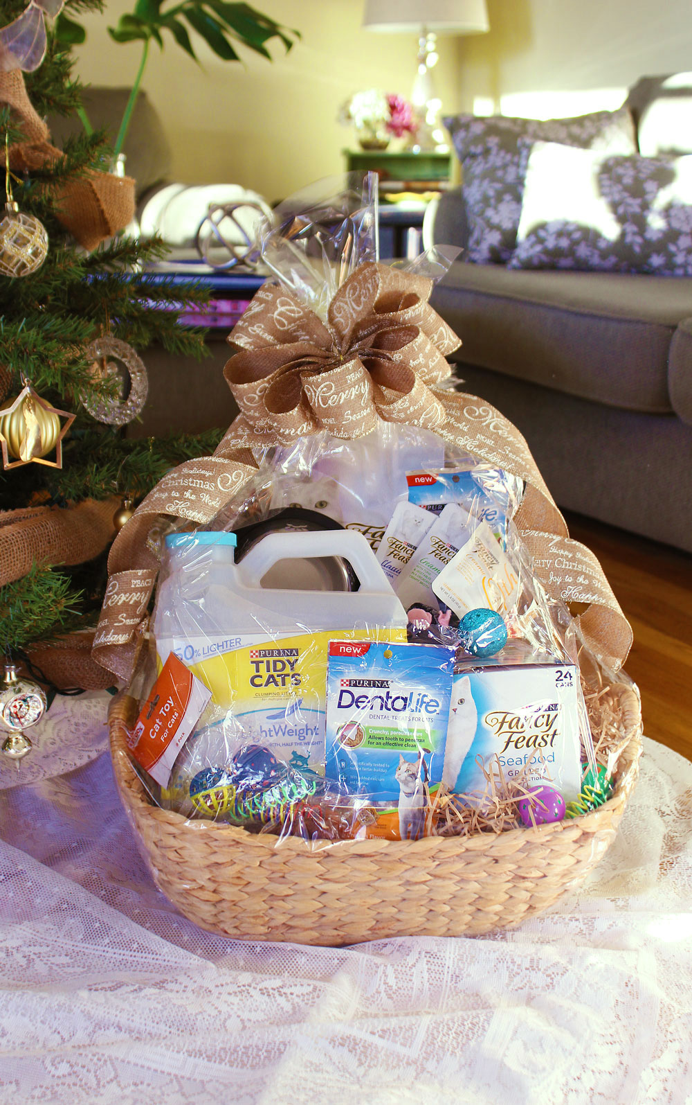 365 Designs Pet Gift Basket With Personalized All Natural Diy Air
