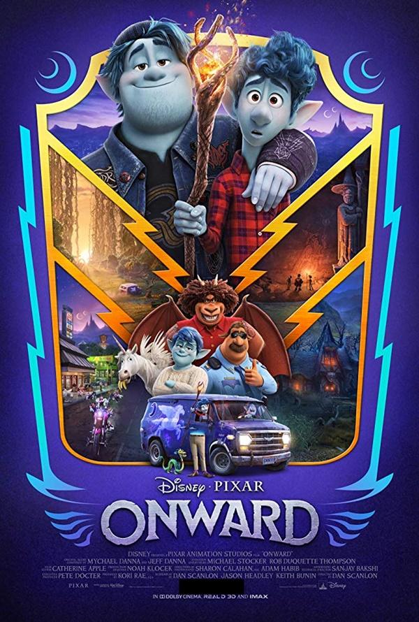Filem animasi dan Fantasi Onward