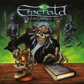 "Το τραγούδι των Emerald ""Ridden By Fear"" από το album ""Reckoning Day"""