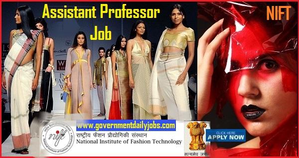NIFT Assistant Professor Recruitment 2019 – 179 Vacancies