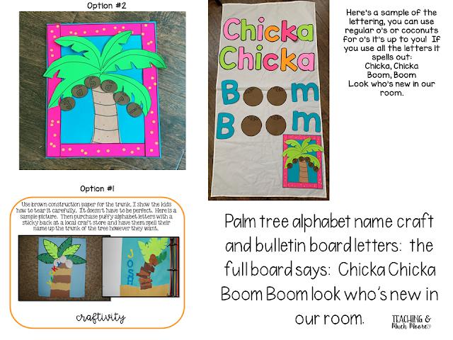 chicka chicka boom boom craft