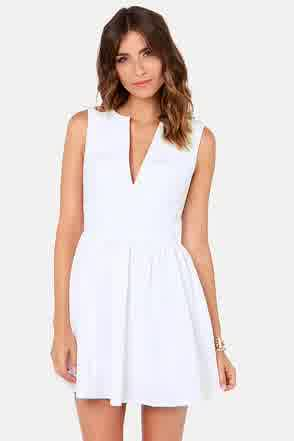 f5ae450a606 Passion of White For Lulu s Graduation Dresses 2015