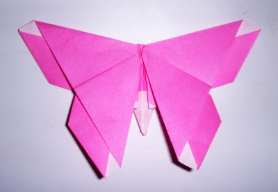 Origami: Origami Alice Gray Butterfly - Design by Michael ... - photo#2