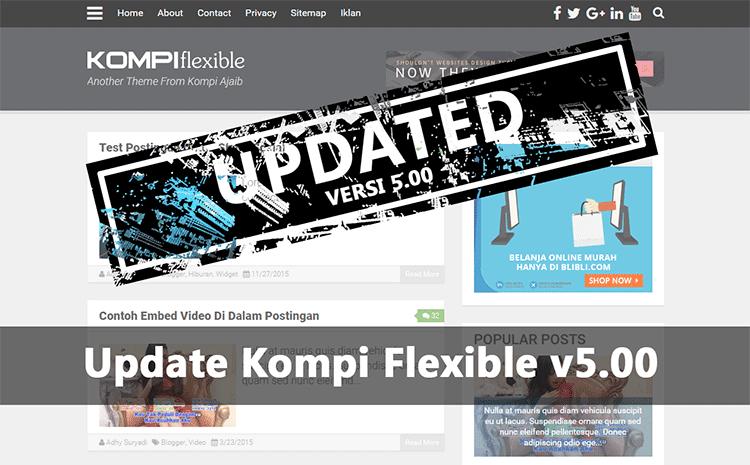 Update Template Kompi Flexible v5.00