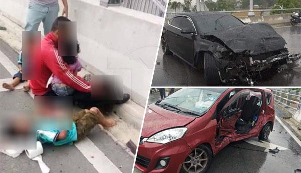 'Pemandu Alza melanggar lampu merah, anak terkorban'