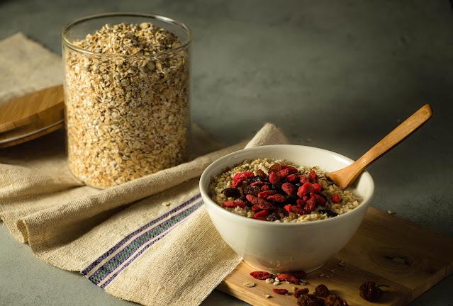 makanan berserat oatmeal