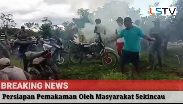 Pasien Positif Corona Meninggal di Lampung Barat, Tetangga Dusun Gotong Royong Gali Liang Lahat
