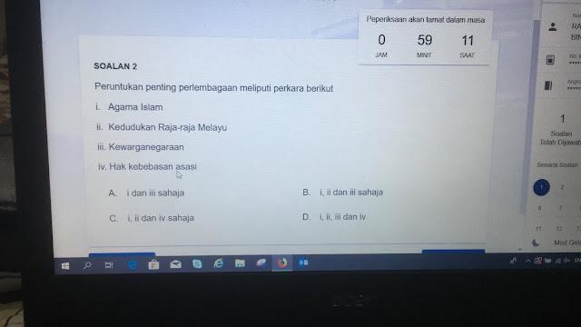 Himpunan Soalan Peperiksaan Memasuki Perkhidmatan UITM Secara Dalam Talian Gred 41