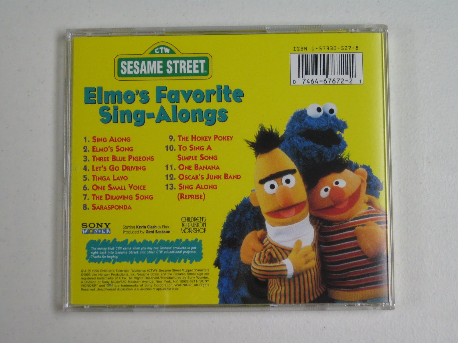 Sesame street songs cd - Shii store