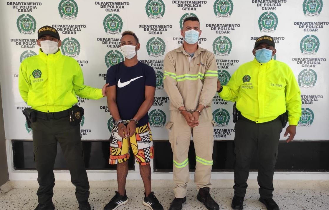 hoyennoticia.com, En Valledupar los capturaron por hurto calificado