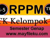 Download RPPM TK A Usia 4-5 Tahun K-2013 Semester 2