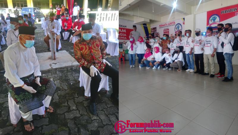 KPU Batam Resmi Terima Lukita-Abdul Basyid Calon Walikota dan Wakil Walikota Batam