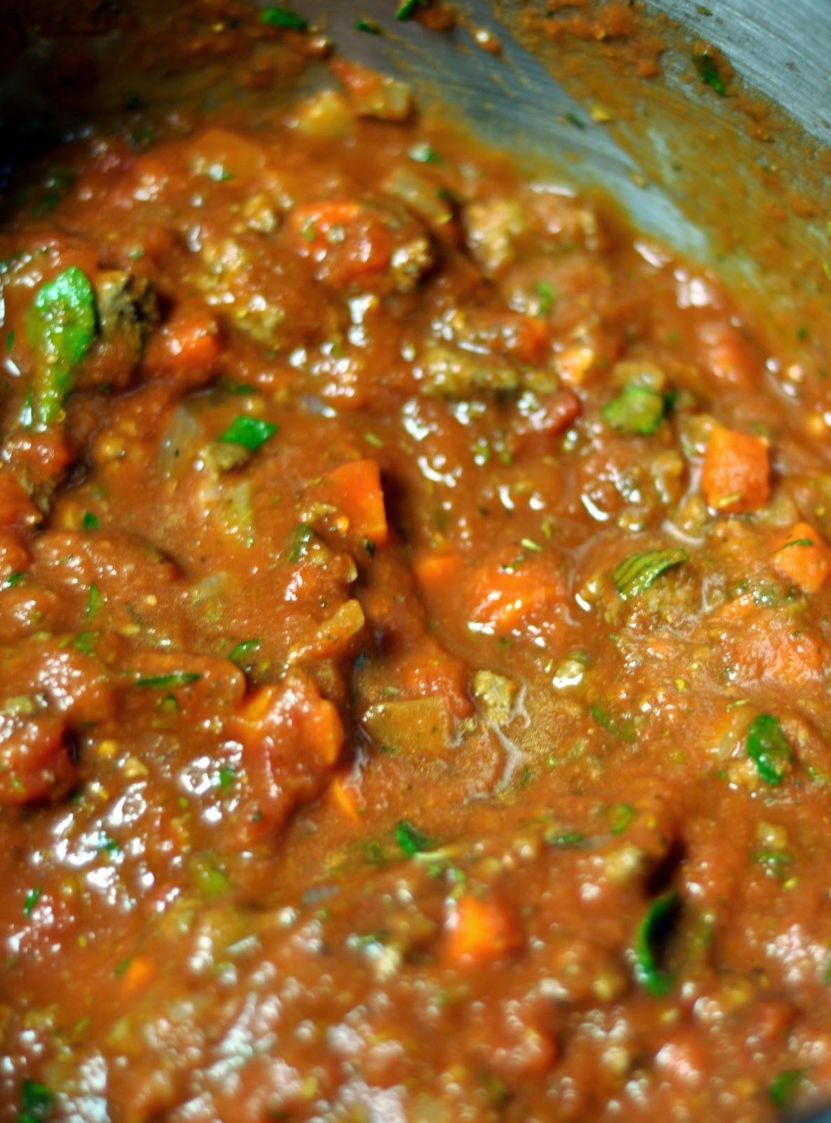 Tomato Meat Sauce | Taste As You Go